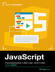 Okładka - JavaScript. Kurs video. Programowanie funkcyjne i reaktywne