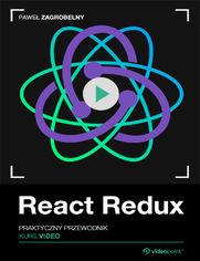 Okładka - React Redux. Kurs video. Praktyczny przewodnik