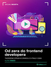 Okładka - Od zera do frontend developera. Kurs video. Two...