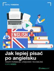 Okładka - Jak lepiej pisać po angielsku. Kurs video. Teks...