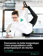 Ćwiczenia na bóle kręgosłupa i inne przypadłości osób przywiązanych do biurka. Kurs wideo