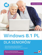 Ok�adka ksi��ki Windows 8.1 PL. Dla senior�w