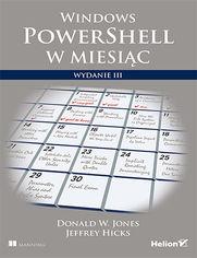 Windows PowerShell w miesiąc. Wydanie III
