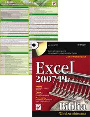 Excel 2007 PL. Biblia.   Tablice informatyczne. MS Excel 2007 PL. Funkcje - John Walkenbach. Witold Wrotek