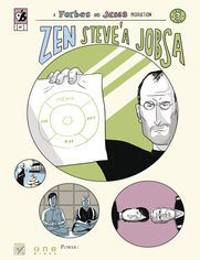 Ok�adka ksi��ki Zen Steve'a Jobsa