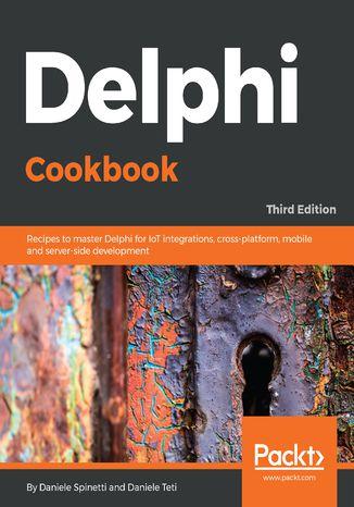 Okładka książki/ebooka Delphi Cookbook,