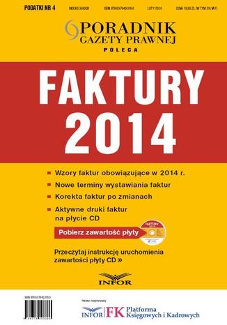 Okładka książki/ebooka Faktury 2014