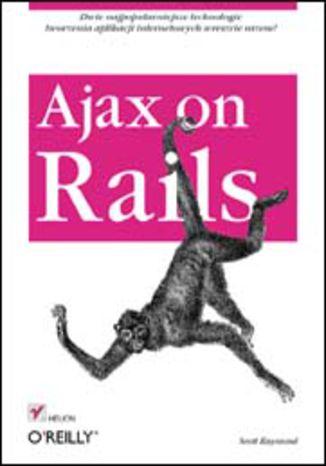 Okładka książki/ebooka Ajax on Rails