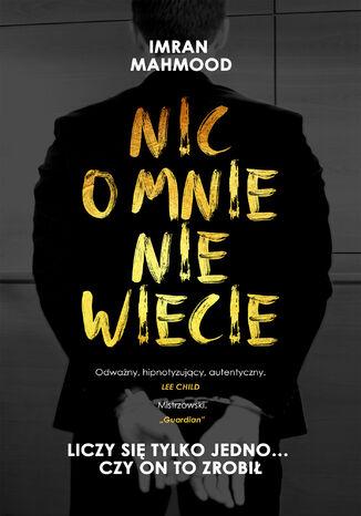 Okładka książki/ebooka Nic o mnie nie wiecie