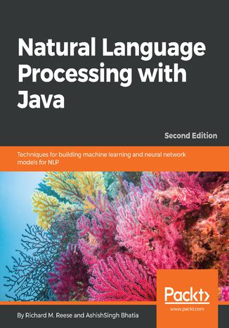 Okładka książki/ebooka Natural Language Processing with Java