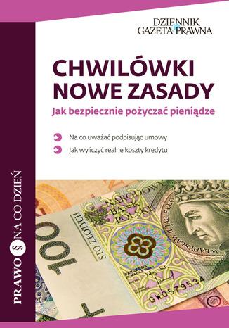 Okładka książki/ebooka Chwilówki: nowe zasady