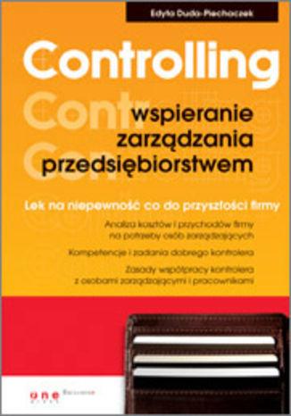 Okładka książki/ebooka Controlling - wspieranie zarządzania przedsiębiorstwem