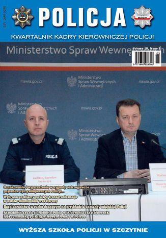 Okładka książki/ebooka Policja 1/2017
