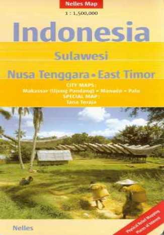Okładka książki/ebooka Indonezja. Sulawesi. Mapa
