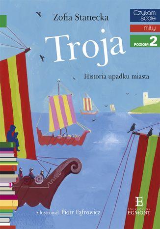 Okładka książki/ebooka Troja. Historia upadku miasta