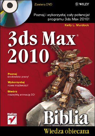 Okładka książki 3ds Max 2010. Biblia