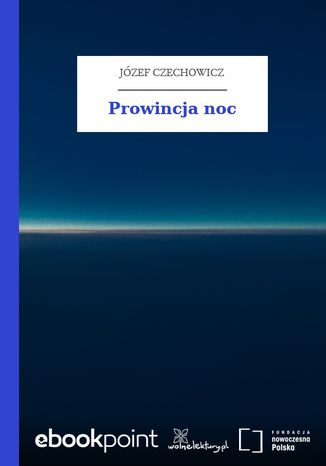 Okładka książki/ebooka Prowincja noc