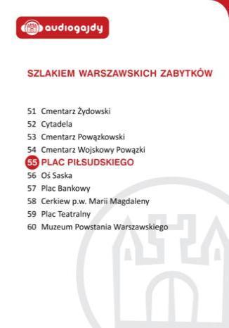 Okładka książki/ebooka Plac Piłsudskiego. Szlakiem warszawskich zabytków