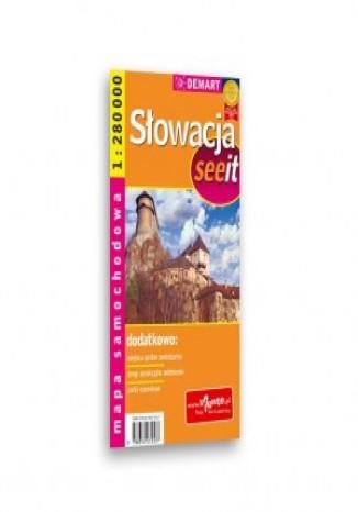 Okładka książki/ebooka Słowacja. Mapa samochodowa (See it)