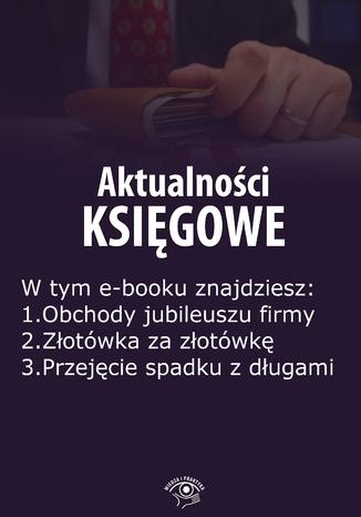 Okładka książki/ebooka Aktualności księgowe, wydanie maj 2015 r