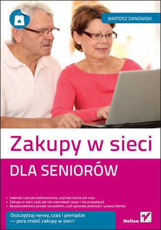 Okładka książki/ebooka Zakupy w sieci dla seniorów