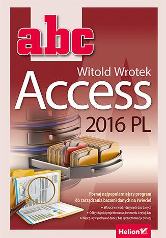 Okładka książki/ebooka ABC Access 2016 PL