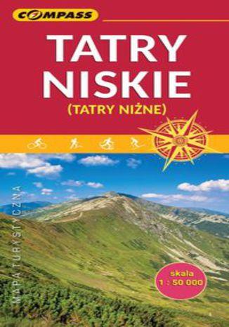 Okładka książki/ebooka Tatry Niskie mapa turystyczna 1:50 000