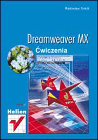 Okładka książki/ebooka Dreamweaver MX. Ćwiczenia