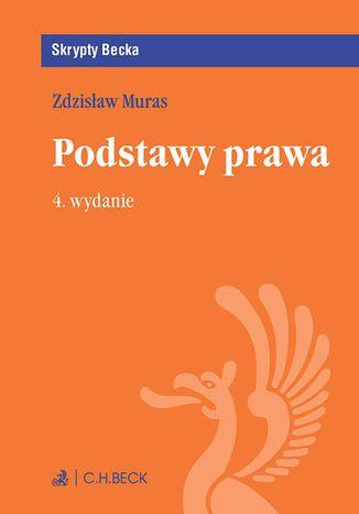 Okładka książki/ebooka Podstawy prawa. Wydanie 4
