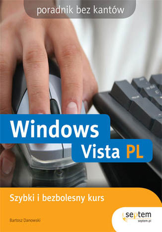 Okładka książki/ebooka Windows Vista PL. Bez kantów