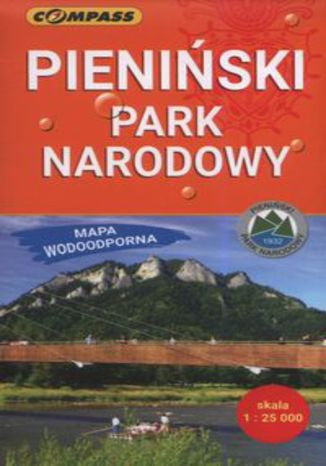 Okładka książki/ebooka Pieniński Park Narodowy  Mapa wodoodporna 1:25000