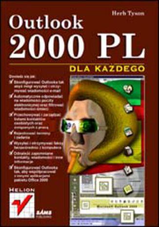 Okładka książki/ebooka Outlook 2000 PL dla każdego