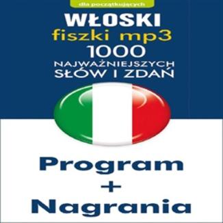 Okładka książki Włoski Fiszki mp3 1000 najważniejszych słów i zdań