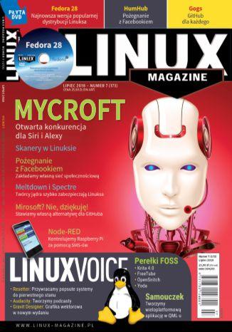 Okładka książki/ebooka Linux Magazine 07/2018 (173)