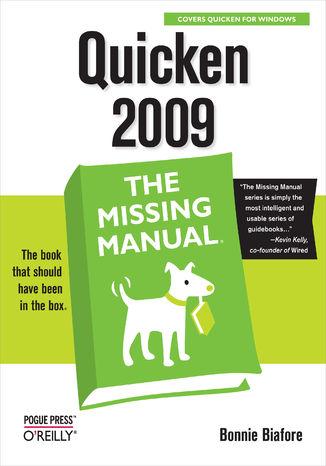 Okładka książki/ebooka Quicken 2009: The Missing Manual