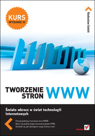 Okładka książki/ebooka Tworzenie stron WWW. Kurs. Wydanie III
