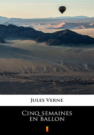 Okładka książki/ebooka Cinq semaines en ballon