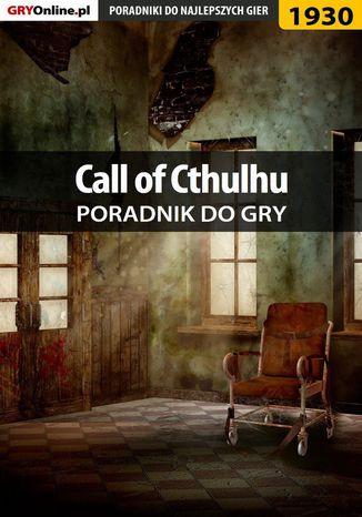 Okładka książki/ebooka Call of Cthulhu - poradnik do gry