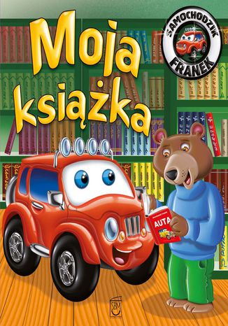 Okładka książki/ebooka Samochodzik Franek Moja Książka