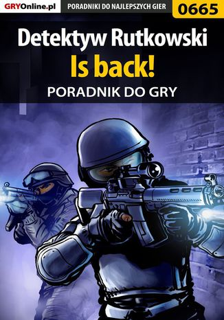 Okładka książki/ebooka Detektyw Rutkowski - Is back! - poradnik do gry