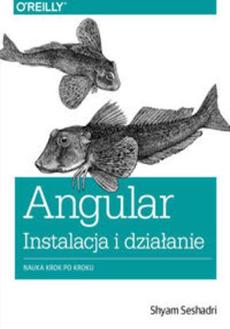 Okładka książki/ebooka Angular instalacja i działanie. Nauka krok po kroku