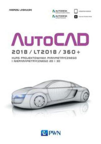 Okładka książki/ebooka AutoCAD 2018/LT2018/360+