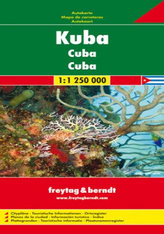 Okładka książki/ebooka Kuba. Mapa samochodowa