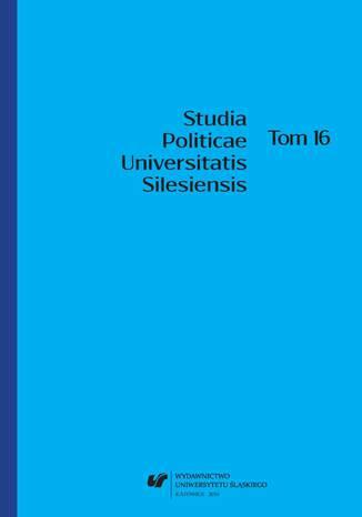 Okładka książki/ebooka Studia Politicae Universitatis Silesiensis. T. 16