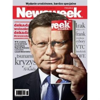 Okładka książki Newsweek do słuchania nr 36 - 05.09.2011