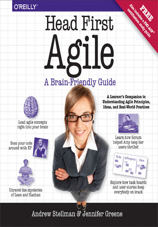 Okładka książki/ebooka Head First Agile. A Brain-Friendly Guide to Agile Principles, Ideas, and Real-World Practices