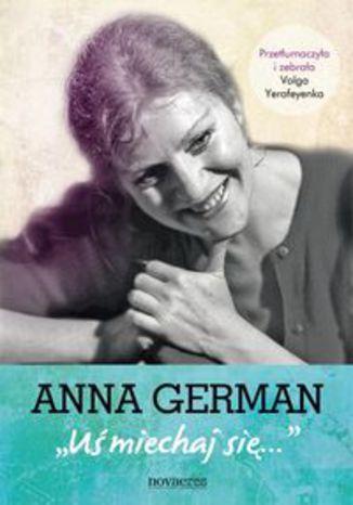 Okładka książki Anna German Uśmiechaj się