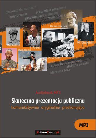 Okładka książki/ebooka Skuteczna prezentacja publiczna