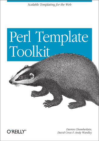 Okładka książki/ebooka Perl Template Toolkit. Scalable Templating for the Web