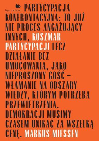Okładka książki/ebooka Koszmar partycypacji